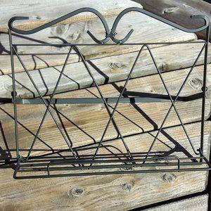Pretty Wire Menu Holder Recipe Holder Kitchen